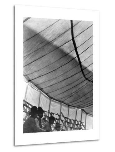 Circus Tent (Gran Circo Ruso), Mexico City, 1924-Tina Modotti-Metal Print