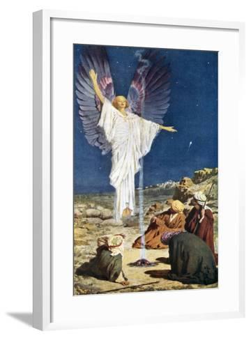 The First Noel-William Henry Margetson-Framed Art Print