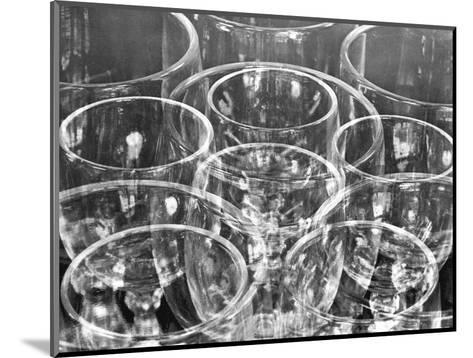 Wine Glasses (Experiment with Similar Forms), Mexico City, 1925-Tina Modotti-Mounted Photographic Print