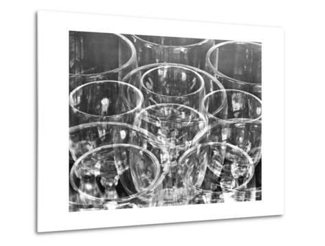 Wine Glasses (Experiment with Similar Forms), Mexico City, 1925-Tina Modotti-Metal Print