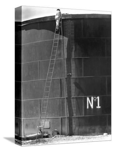 Tank No, 1, Mexico, 1927-Tina Modotti-Stretched Canvas Print