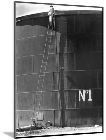 Tank No, 1, Mexico, 1927-Tina Modotti-Mounted Photographic Print