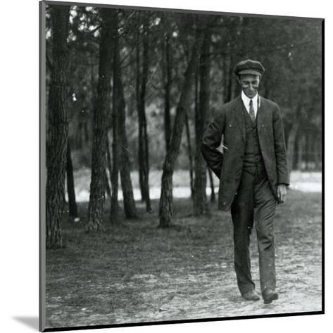 Wilbur Wright in France, 1909--Mounted Photographic Print