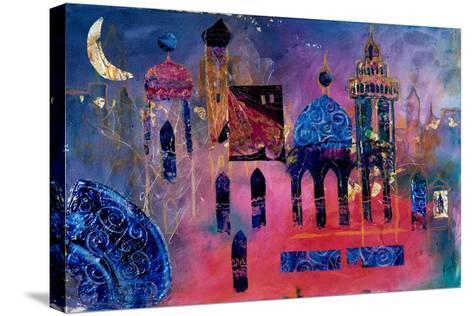 Arabian Fantasy, 2012-Margaret Coxall-Stretched Canvas Print
