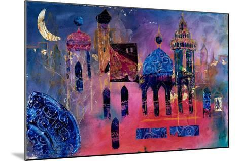 Arabian Fantasy, 2012-Margaret Coxall-Mounted Giclee Print