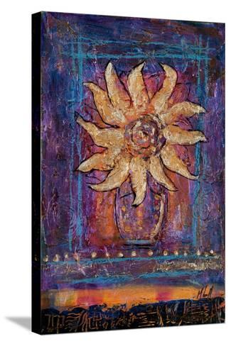 Sunflower, 2012-Margaret Coxall-Stretched Canvas Print