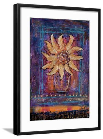 Sunflower, 2012-Margaret Coxall-Framed Art Print
