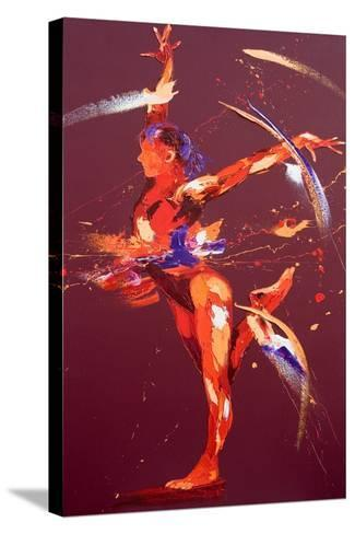 Gymnast Eight, 2011-Penny Warden-Stretched Canvas Print