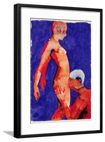Sex, 1989-Graham Dean-Framed Art Print