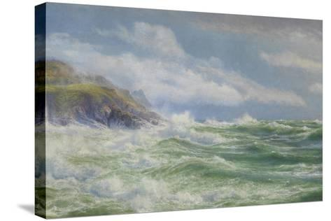Oceans, Mists and Spray, c.1900-Walter Shaw-Stretched Canvas Print
