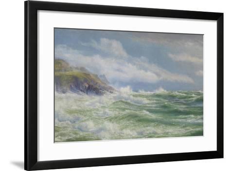 Oceans, Mists and Spray, c.1900-Walter Shaw-Framed Art Print