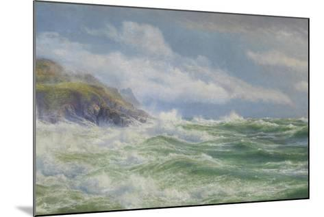 Oceans, Mists and Spray, c.1900-Walter Shaw-Mounted Giclee Print
