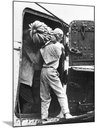 Workers Loading Bananas, Veracruz, 1927-Tina Modotti-Mounted Photographic Print