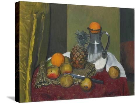 Apples and a Pineapple, 1923-F?lix Vallotton-Stretched Canvas Print
