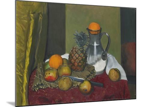 Apples and a Pineapple, 1923-F?lix Vallotton-Mounted Giclee Print