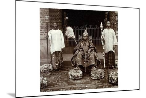 His Highness Oba (King) Aderemi I, the Oni of Ile Ife, Yorubaland, Nigeria, c.1930--Mounted Giclee Print