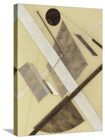 Proun: Path of Energy and Dynamic Flows, c.1920-El Lissitzky-Stretched Canvas Print