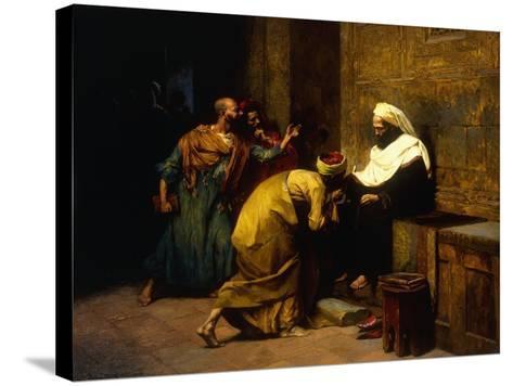 Le Maitre, 1907-Ludwig Deutsch-Stretched Canvas Print