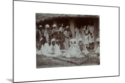Emir of Ilorin, Nigeria, 1925-C. Pilkington-Mounted Giclee Print