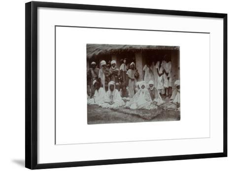 Emir of Ilorin, Nigeria, 1925-C. Pilkington-Framed Art Print