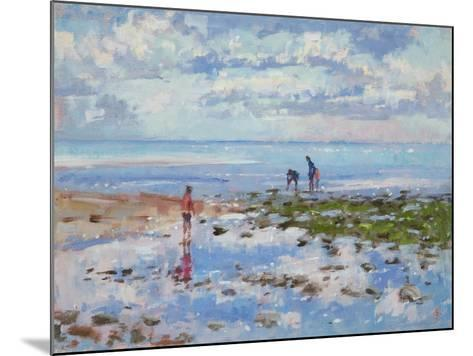 Low Tide Charmouth, 2012-Christopher Glanville-Mounted Giclee Print