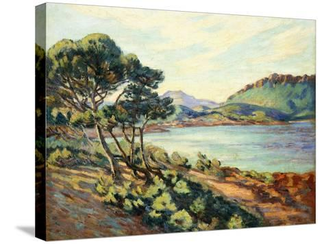La Baie d'Agay, c.1910-Armand Guillaumin-Stretched Canvas Print