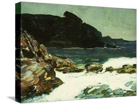 The Ledge, Cape Elizabeth, Maine, 1922-George Luks-Stretched Canvas Print