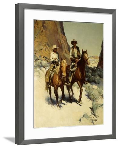Ilustration for the Trusty Knaves, 1931-William Henry Dethlef Koerner-Framed Art Print