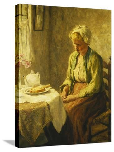 Grace before the Meal, 1927-Evert Pieters-Stretched Canvas Print