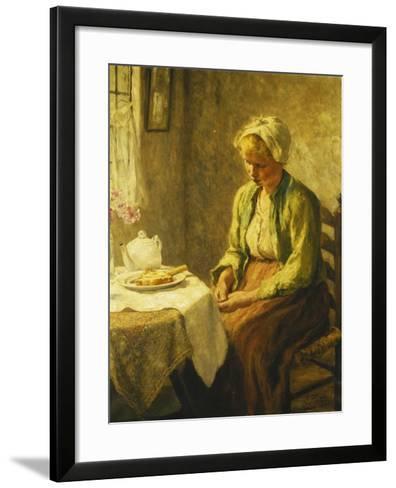 Grace before the Meal, 1927-Evert Pieters-Framed Art Print