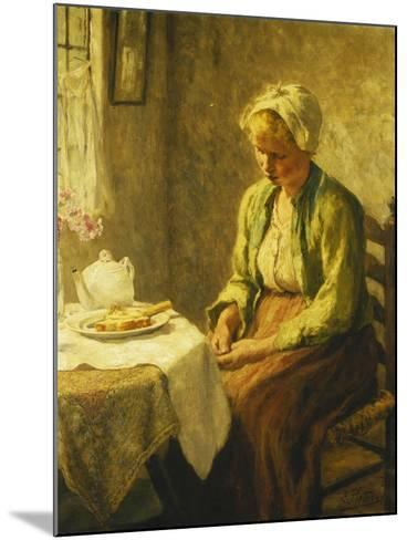 Grace before the Meal, 1927-Evert Pieters-Mounted Giclee Print