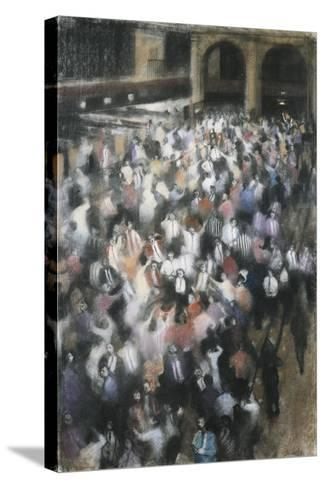 The Futures Market III, Royal Exchange, 1988-Bill Jacklin-Stretched Canvas Print