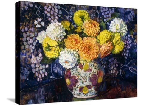 Vase of Flowers; Vase de Fleurs, 1907-Th?o van Rysselberghe-Stretched Canvas Print