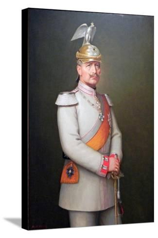 Kaiser Wilhelm II, 1910-Adolf Emil Hering-Stretched Canvas Print