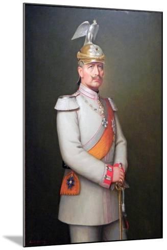 Kaiser Wilhelm II, 1910-Adolf Emil Hering-Mounted Giclee Print
