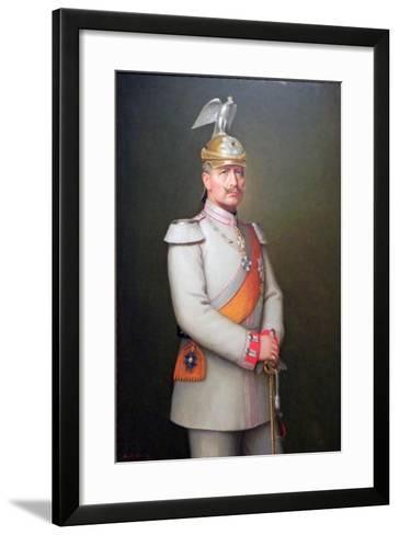 Kaiser Wilhelm II, 1910-Adolf Emil Hering-Framed Art Print