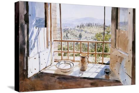 View from a Window, 1988-Lucy Willis-Stretched Canvas Print