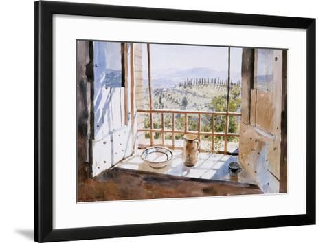 View from a Window, 1988-Lucy Willis-Framed Art Print