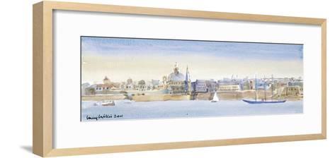 Valletta Skyline, 2011-Lucy Willis-Framed Art Print