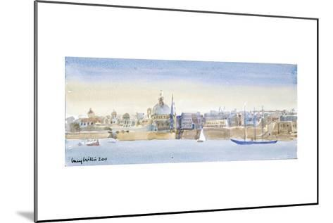 Valletta Skyline, 2011-Lucy Willis-Mounted Giclee Print
