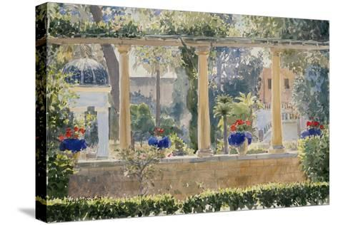 The Palace Garden, 2012-Lucy Willis-Stretched Canvas Print