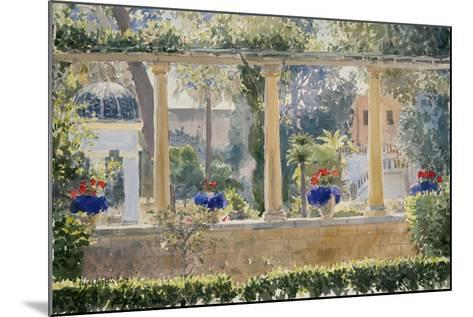The Palace Garden, 2012-Lucy Willis-Mounted Giclee Print