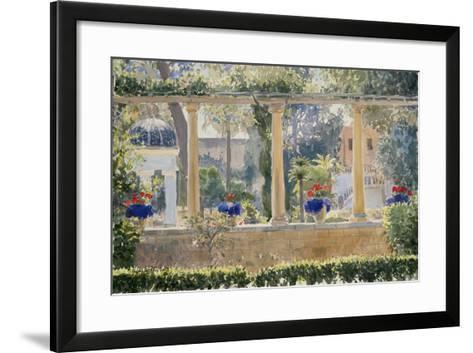 The Palace Garden, 2012-Lucy Willis-Framed Art Print