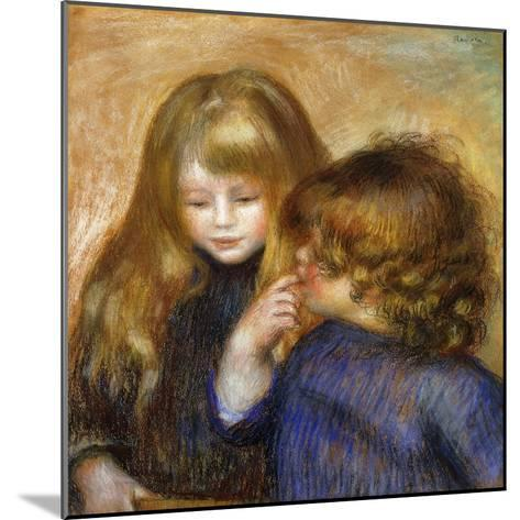 Jean and Coco; Jean et Coco, c.1902-Pierre-Auguste Renoir-Mounted Giclee Print
