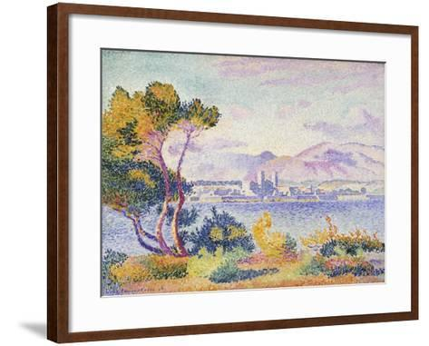 Antibes, Afternoon; Antibes, Apres-Midi, 1908-Henri Edmond Cross-Framed Art Print