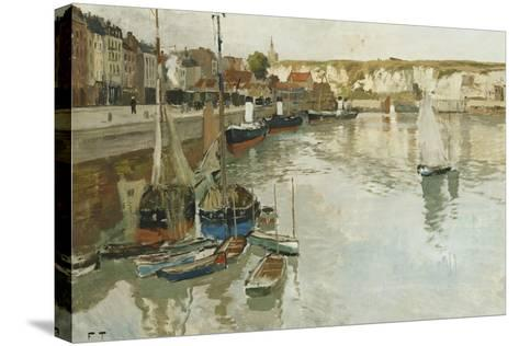 Dieppe, c.1934-Fritz Thaulow-Stretched Canvas Print