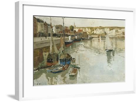Dieppe, c.1934-Fritz Thaulow-Framed Art Print