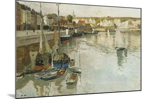 Dieppe, c.1934-Fritz Thaulow-Mounted Giclee Print