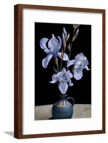 Irises, 2010-James Gillick-Framed Art Print