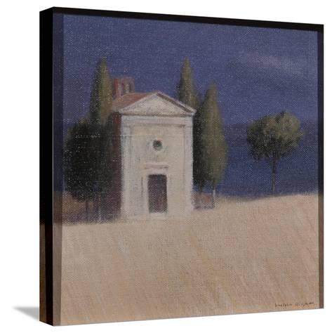 Chapel Near Pienza II, 2012-Lincoln Seligman-Stretched Canvas Print